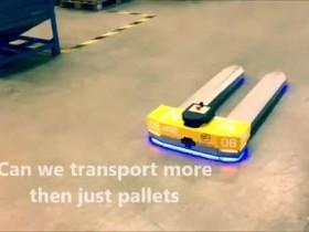 AGV robot control technology