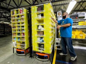 Amazon invests in Balyo AGV technology