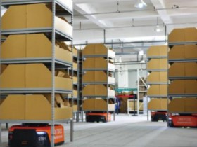 What is the feasibility of the AGV robot rental model?
