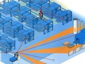 Laser navigation AGV eyes