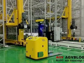 How AGV realize automatic avoiding obstacles?