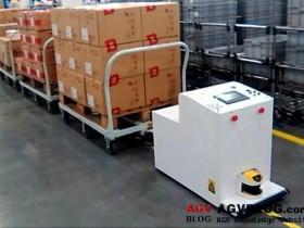 AGV design based on infrared sensor guidance