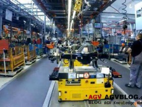 AGV in Assembly Shop