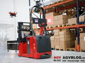 AGV Forklift Guidance System