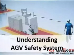 Read in one article how the AGV safety system works?
