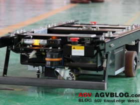 What is the working process of AGV?
