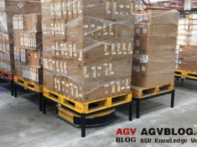 the specific realization of AGVS in the home manufacturing industry