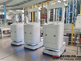 Autonomous AGV robots in industry: path development, testing and landing