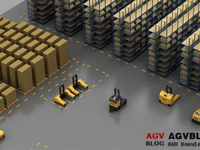 AGV Automated guided vehicle wireless communication solution