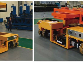 What are the main advantages of heavy-duty AGV?