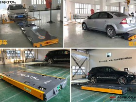 What is the AGV parking system for driverless and automatic parking?