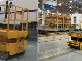 Application of AGV trolley in assembly field