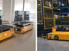 AGV robot transfer vehicles under 5G network technology are more efficient