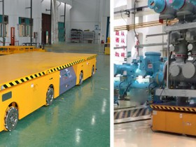 Technical advantages of customized transfer AGV robots